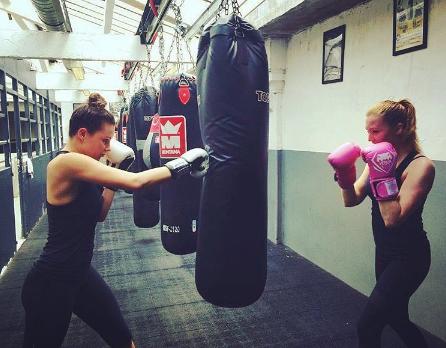 cours boxe femme paris